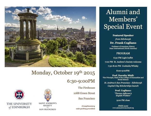 SASSF Edinburgh University Event