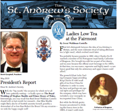 SAS May Newsletter
