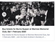 Burns Supper 2020