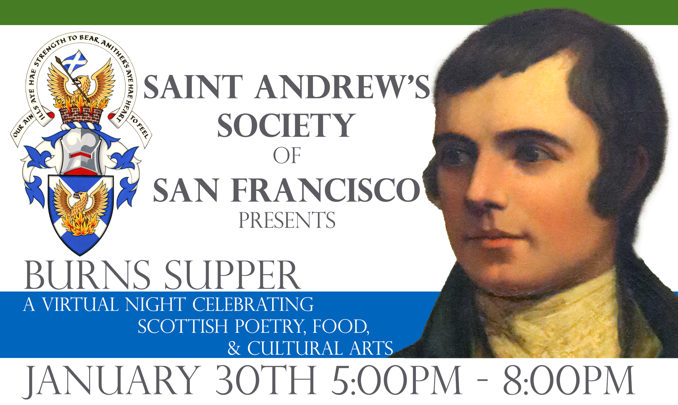 Robert Burns Celebration supper